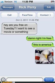 damn right i'm free