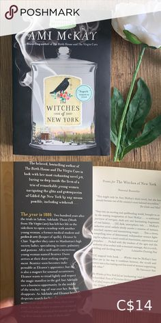 Book 📚 The Witches of New York by Amy McKay Fantasy witch horror halloween fiction novel in perfect condition Book Other The Unexpected Everything, Before Trilogy, Wicked Book, Feelings Book, The 5th Wave, Fantasy Witch, Book City, Five Love Languages, Sailor Moon Manga