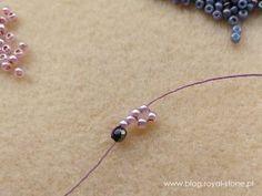 Naszyjnik St. Perersburg Chain | Royal-Stone blog Beaded Jewelry Designs, Bead Jewellery, Seed Bead Jewelry, Crochet Beaded Bracelets, Beading Patterns Free, Jewelry Making Tutorials, Chain, Beads, Earrings
