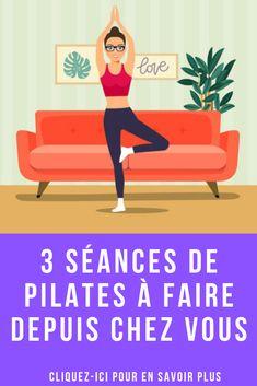 Vous voulez apprendre le pilates ? Voici 3 séances de cours de pilates en vidéo que vous pourrez suivre à votre rythme depuis votre domicile ! Le Pilates, Pilates Workout, Hiit, Cardio, Yoga Gym, Yoga Fitness, Fitness Tracker, Fitness Motivation, Fit Mum