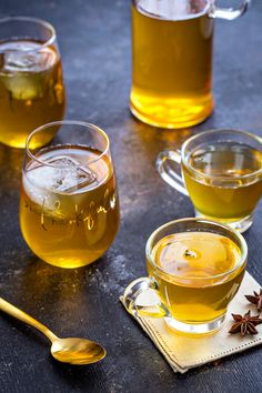 Mulled Apple Cider Punch is a festive drink you can serve hot or cold at your Thanksgiving celebration.