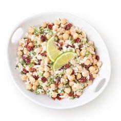 Salade de pois chiches avec riz - Recettes - Cuisine et nutrition - Pratico Pratiques