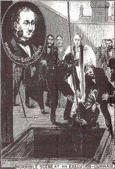 """The Illustrated Police News """"Horrible scene at an execution - Durham"""" Victorian Artwork, The Threepenny Opera, Police News, Victorian Illustration, Penny Dreadful, Comic Styles, Advertising Poster, Graphic Design Illustration, Vintage Images"""