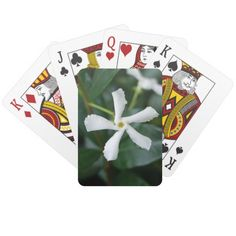 Star Jasmine Playing Cards