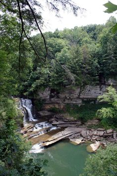 Cummins Falls State Park - Tennessee, USA