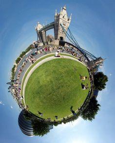 360 degree Tower Bridge  London