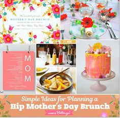 Show Mom You Really DO Care! Throw a Hip Mother's Day Brunch: http://www.bellenza.com/party-ideas/theme-ideas/awesome-mama-throw-hip-mothers-day-brunch-simple-plan #mothersday #mothersdaybrunch #brunchideas