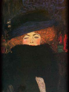 Klimt Gustav (1862-1918@55 austria) Dame mit Hut + Federboa (1909@47)   iSphere-wp-0000640100v_iPad_KlimtGustav(1862-1918@55austria)Dame_mit_Hut+Federboa(1909@47) | Flickr - Photo Sharing!