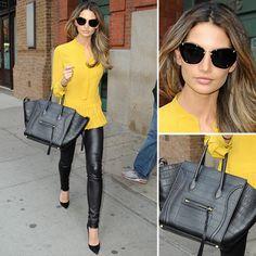 Fashion style Lily Aldridge