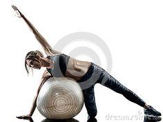 Swiss Ball Exercises, Caucasian Woman, Pilates Workout, Fit Women, Fashion, Moda, Fit Females, Fasion, Trendy Fashion