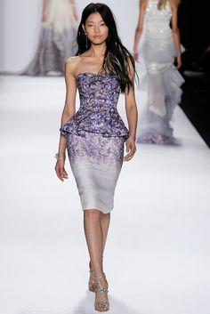 Badgley Mischka (SS 2015) #NYFW #weddingguest #vestidodefiesta #vestidosinvitadas #tendenciasdebodas