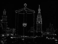 "Morbid Anatomy: Amazing Animated Gifs of a Circa 1920s Coney Island, from ""Speedy,"" 1928"