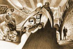 Grim Fandango Art