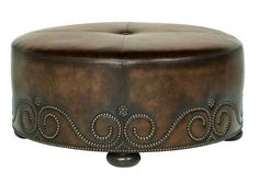 Round Coffee Tables | Ottoman, Oval, Leather, Marble, ...