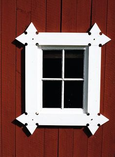 Window in Dalarna, Sweden