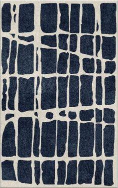 Statement designed custom rug - Nexus