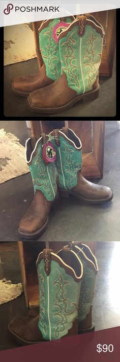 BRAND NEW Justin Gypsy Boots (waterproof) Brand New with tags!!! These boots are waterproof so you can wear them for just about ANYTHING! Wear them for a night out with the girls, to a Texan rodeo, or even hiking in STYLE! They look so good with a pair of shorts and a cute top and even better with a pair of beat up jeans. This is a must have. They are even cuter on!!! Justin Boots Shoes Winter & Rain Boots