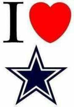 I love the Dallas Cowboys!