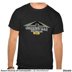 Airport Runway 28 Customizable Shirt Graphic Airport Runway 28 - Customize Shirts, Gifts & Tees with your Airport Information - for the Aviation Enthusiast. Fly high with your own airport brand from keychains to magnets - aprons to buttons, stickers, mugs, hats & more. Great gifts for pilots, student pilots & crew!  http://www.zazzle.com/clearedtoland  #aviation #flying #dad #pilot #fathersday #airplane