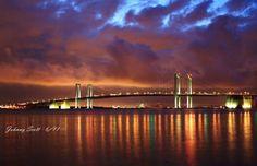 9. Delaware Memorial Bridge over the Delaware River