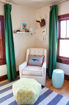 DIY: Dying Curtains with Rit Dye