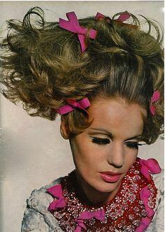 Veruschka, 1965  Photo by Irving Penn