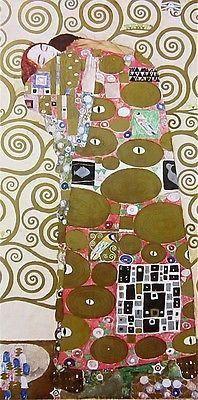 Fulfillment, 1980s Offset Lithograph, Gustav Klimt – Art Commerce