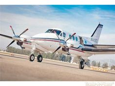 Beechcraft King Air E90 Aircraft    http://www.trade-a-plane.com/for-sale/aircraft/by-make/Beechcraft/King+Air+E90