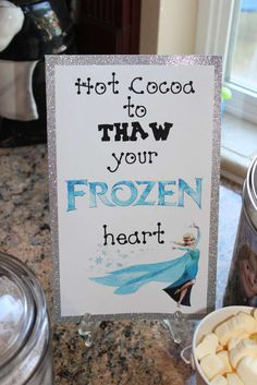 Frozen (Disney) Birthday Party Ideas | Photo 6 of 36 | Catch My Party