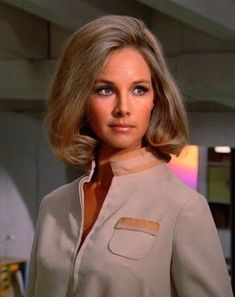 Sci-Fi And Fantasy Universe. Sci Fi Tv Series, Sci Fi Tv Shows, Sci Fi Movies, Movie Tv, Wanda Ventham, Erin Gray, Vintage Television, Space Girl, British Actresses