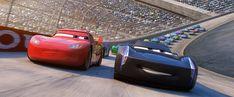 Lightning McQueen & Jackson Storm