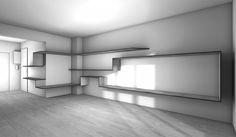 La maison france créer un bureau console tv entre une entrée