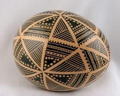 Sorokoklyn Brown Egg Pysanky