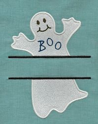 Split Ghost Applique - 3 Sizes! | What's New | Machine Embroidery Designs | SWAKembroidery.com Applique for Kids