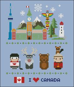 Canada icons Mini people around the world PDF by cloudsfactory, $8.00