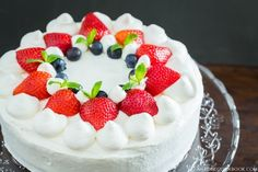 Strawberry Shortcake いちごのショートケーキ • Just One Cookbook