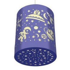 DJECO papierknipkunst lamp space