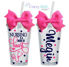 Personalized Tumblers  GREAT Gift Idea!  Family, Friends, Teachers, Coaches, Weddings, & Parties. You are purchasing one PERSONALIZED Double