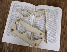 Vintage Glasses Pop Out Card