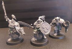 Bits Addiction: Censers & Tocsins - Putrid Blightkings and Nurgle Chaos Warriors WIP