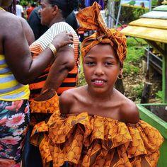 "The Basti #girls were all #smiles this past #weekend after their #local ""baile el palo de mayo"" #dance at #lafaria.  Always #happy on #Bastimentos!  #TheBubbasLife #BubbasHouse #BocasDelToro #Panama #Party #Islandlife #picoftheday by bubbashouse"