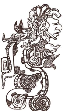 Mayan art by can find Mayan symbols and more on our website.Mayan art by Aztec Symbols, Viking Symbols, Egyptian Symbols, Viking Runes, Ancient Symbols, Mayan Tattoos, Indian Tattoos, Arte Latina, Aztec Tattoo Designs