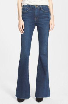 Frame Denim 'Le High Flare' Flare Leg Jeans (Dunfield) #NSale #NSale2015 #Nordstrom #AnniversarySale
