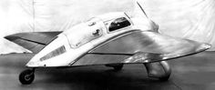 Ford Model 15-P - Was a 1936 Flying Wing Civil Aviaiton Aircraft, Powered by a Ford V-8 Engine. The Aircraft Was Damaged During Several Test Flights and Later, Portions of the Design Were Used on the Ford Autogyro Prototype, but it too was Scrapped (1)