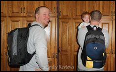 Dad is stoked with his new DadGear Backpack diaper bag (review by Emily Reviews). Purchase at: https://www.dadgear.com/product-category/dad-diaper-backpack/  #newdad #daddiaperbag #dadgear