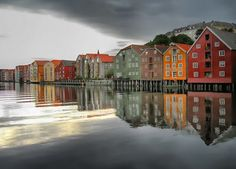 ...Trondheim, Norway. some ancestors are from here