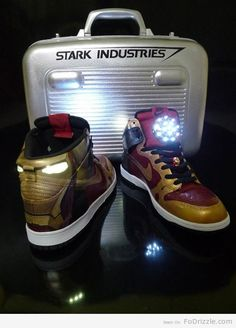 Iron Man Air Force Ones