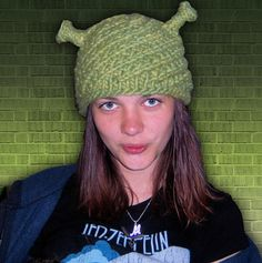 Shrek hat - good for photo booth