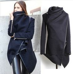 New 2014 Fashion Winter Worsted Coat Women Thick Slim desigual coat Outerwear Long sleeve Jackets Women Plus size-in Wool & Blends from Apparel & Accessories on Aliexpress.com | Alibaba Group