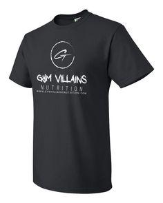 Gym Villains Nutrition Mens T-Shirt